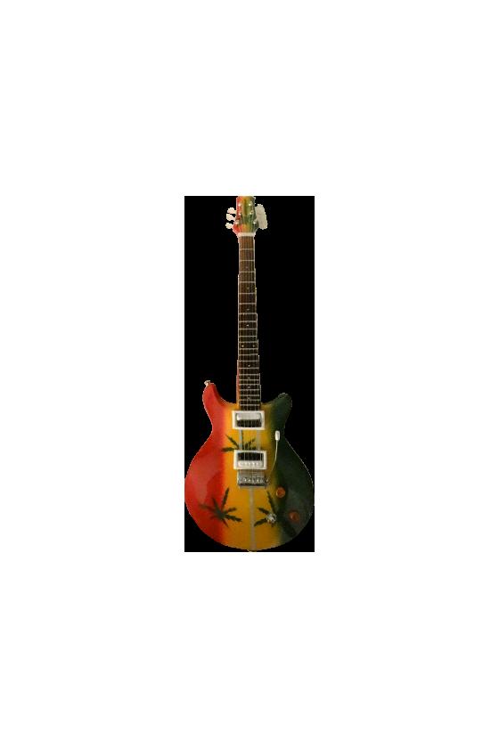Guitare miniature Bob Marley