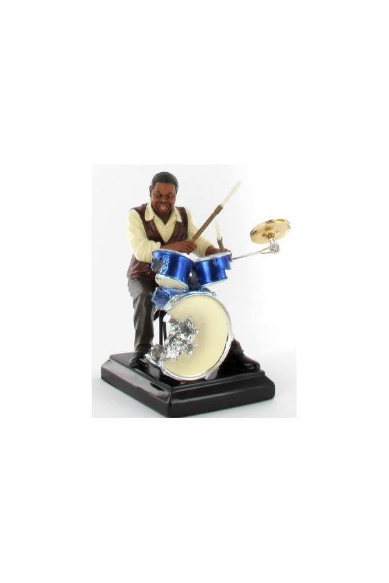 Figurine musicien batteur...