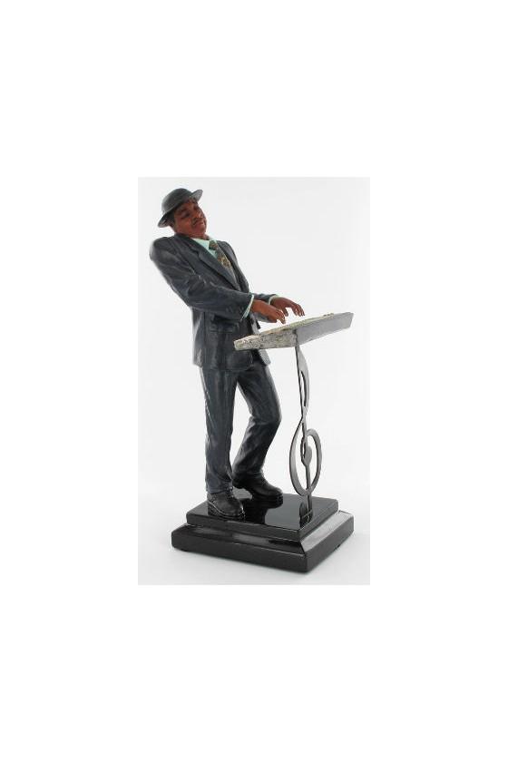 Figurine musicien pianiste...